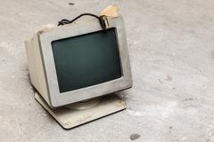 Old computer monitor Kuvituskuvat
