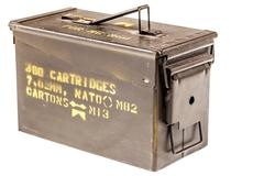 Ammunition box Stock Photos