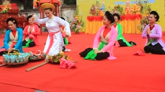 People attended traditional festival,Asia Stock Footage