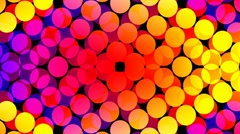 Stock Video Footage of Disco Dots Looping Background