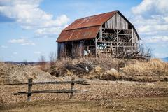 Old abandoned barn Kuvituskuvat