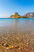 Little island Kastri near Kos, Greece Stock Photos