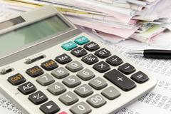 Accounting and finance Stock Photos