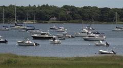 Cotuit Harbor Cape Cod Stock Footage
