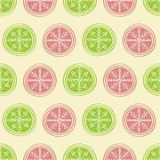 Christmas seamless background - stock illustration