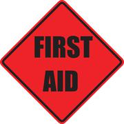 First aid sign Stock Illustration