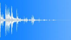 Rock Cinderblock Dropped On Debris Pile Sound Effect