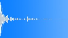 Cinderblock Impact Sound Effect