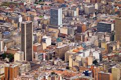 downtown, bogota, colombia, south america - stock photo