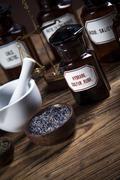 the ancient natural medicine - stock photo