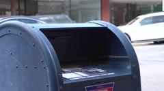 Mailbox - stock footage