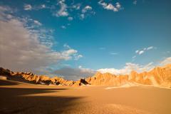 Rocks formations in death valley, atacama desert, chile Stock Photos
