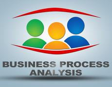 Stock Illustration of business process analysis