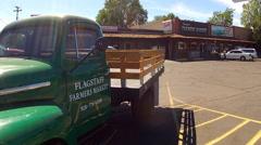 Farmer's Market In Flagstaff Arizona Stock Footage