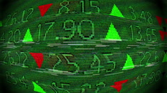 stock market symbolism - stock footage