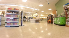 Walkthrough publix 2 Stock Footage