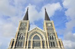 roman-catholic cathedral of the immaculate conception - stock photo