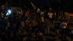 People attended traditional festival, Asia Stock Footage