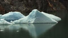 Ice Flow Glacier Stock Footage