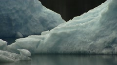 Glacier Ice Flow Stock Footage