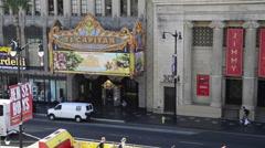 El Capitan Theater Stock Footage