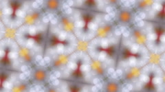 Kaleidoscope brilliant. Background. Stock Footage