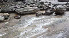 Shallow streams Stock Footage