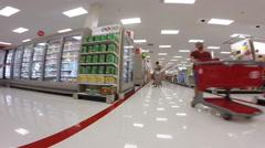 Target walkthrough 4 Stock Footage