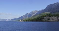 4K Lighthouse near Makarska Stock Footage