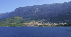 4K Makarska, Croatia Stock Footage