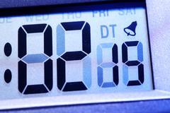 Digital timer Stock Photos