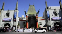 Chinese Theater - stock footage