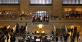 UltraHD 4K Iconic New York City Grand Central Station Terminal People Commuting Footage