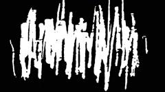 36 mm Scracth Grunge film  - stock footage
