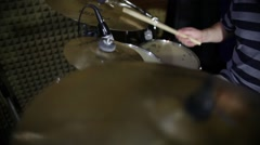 I´m a drummer Stock Footage