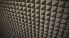 Sound isolation room Stock Footage