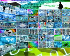 Stock Illustration of wide choice