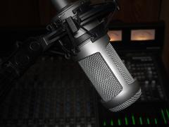 Studio mic  Stock Photos