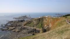The Lizard peninsula Cornwall England UK Stock Footage