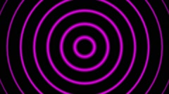 Pink Hypnotic Vj Video Stock Footage