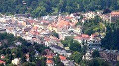 Views of Baden-Baden  and Schwarzwald. Germany Stock Footage