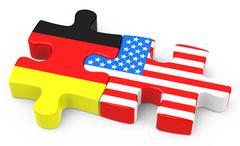 Free trade agreement Stock Illustration