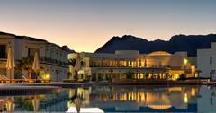 nuweiba beach resort - sinai egypt - stock photo