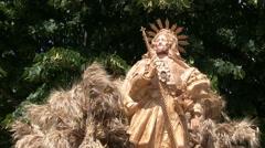 Italy - Festa del Grano - San Rocco Stock Footage