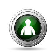 user profile icon - stock illustration