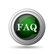 Stock Illustration of faq icon