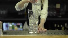 Ice shake. Shaking Stock Footage