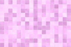 pink tile wall - stock illustration