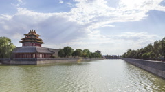 The forbidden city--timelapse Stock Footage