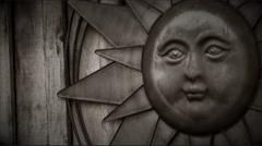 Pagan Sun God | Film Effect / Grain Stock Footage